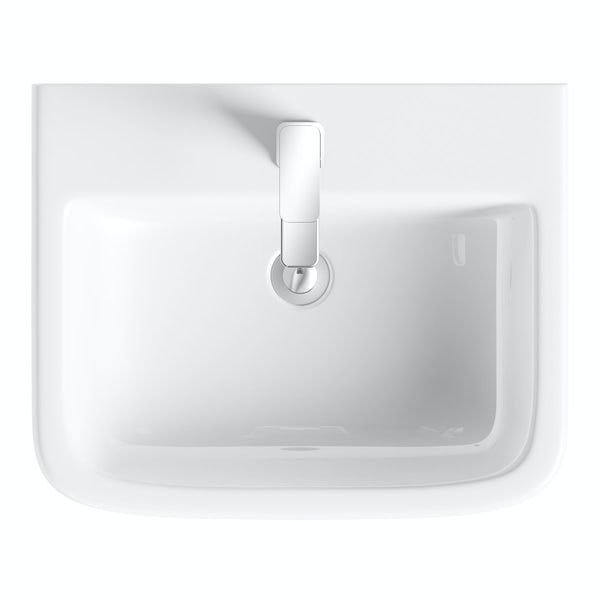 Carter full pedestal basin 550mm