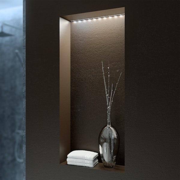 LED flexible strip kit 1m cool white