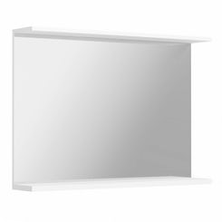 Florence white bathroom mirror 1050mm
