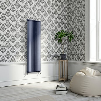 Graham & Brown Pallade black and white wallpaper