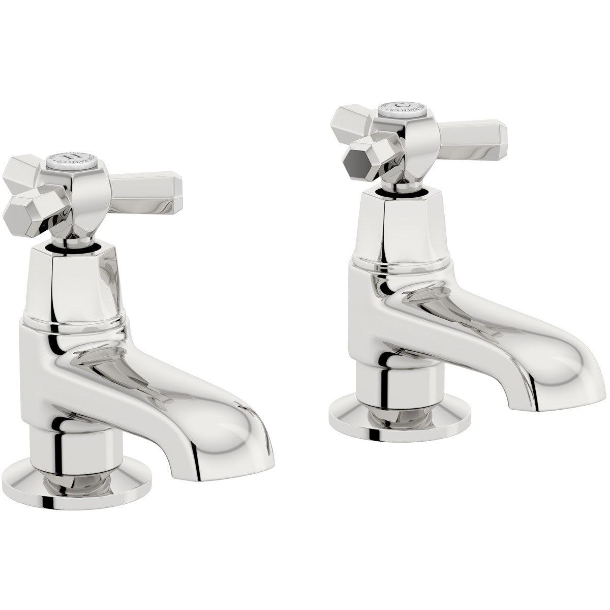 The Bath Co. Beaumont bath pillar taps offer pack