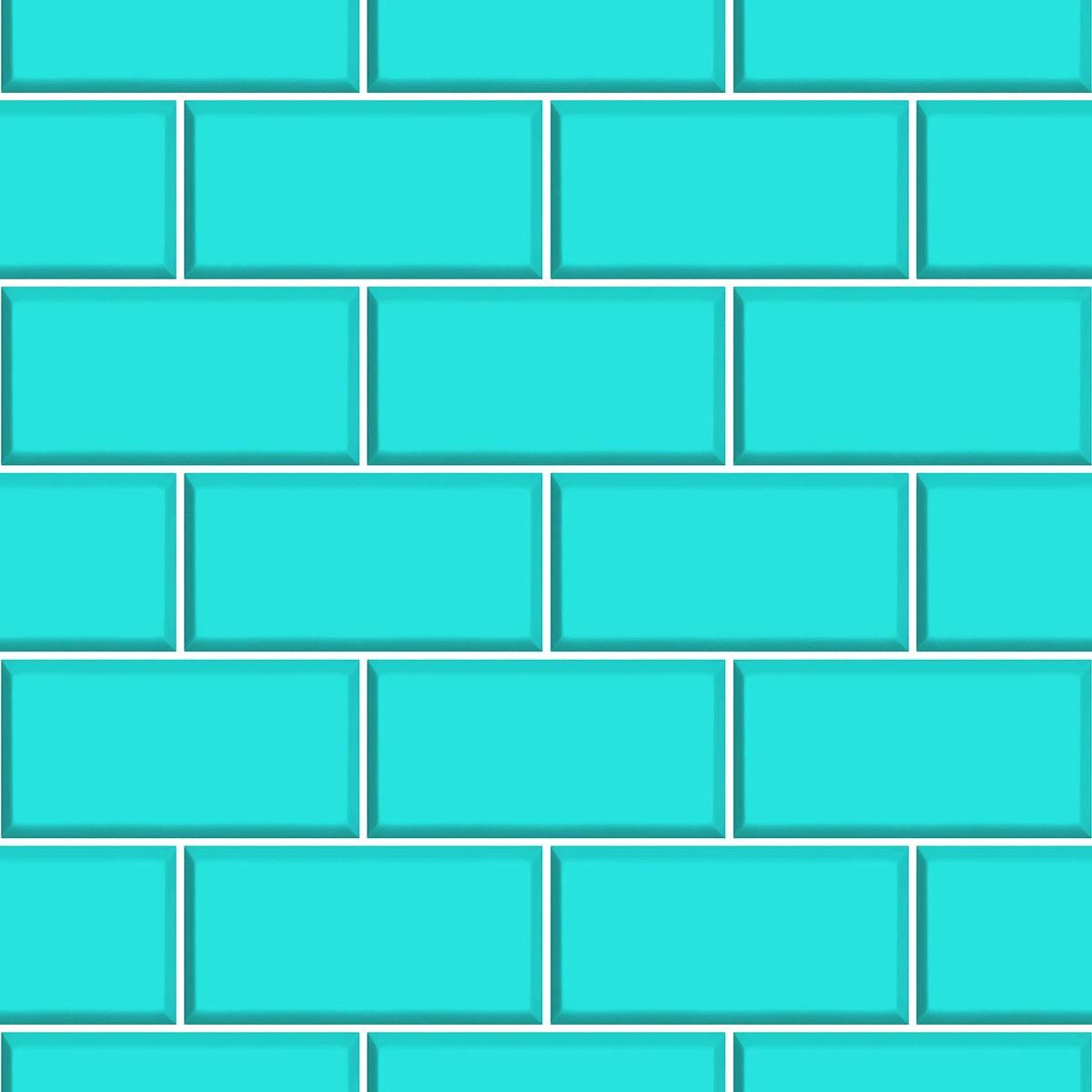 Ceramica subway tile teal victoriaplum ceramica subway tile teal dailygadgetfo Image collections