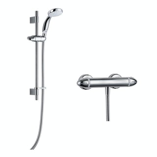 Mira Coda Pro EV thermostatic mixer shower