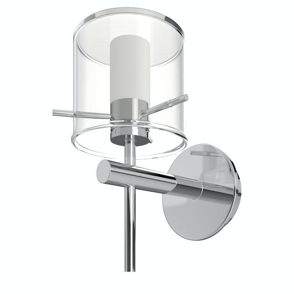 Forum Gene cylinder bathroom wall light