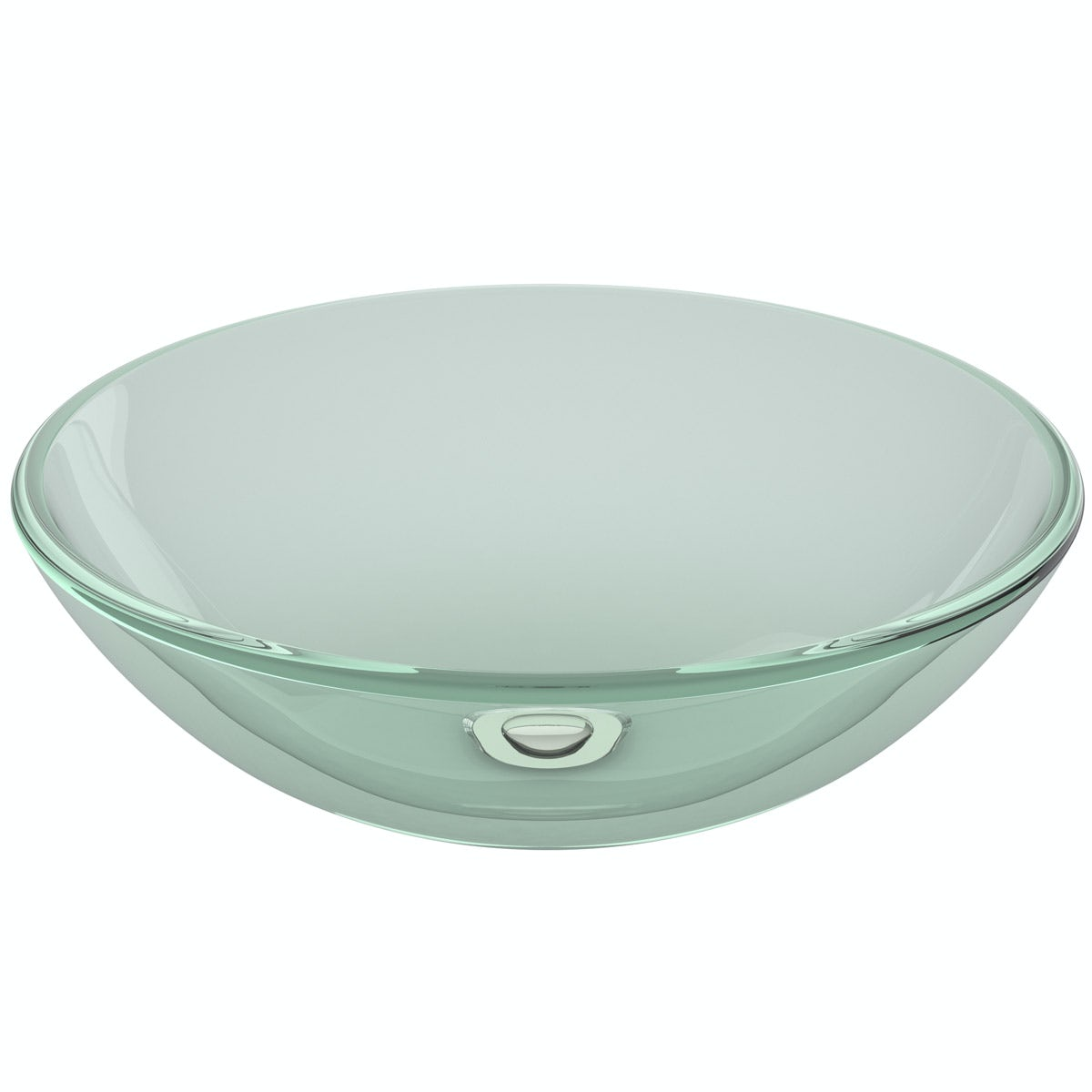 Mode Mackintosh clear glass countertop basin