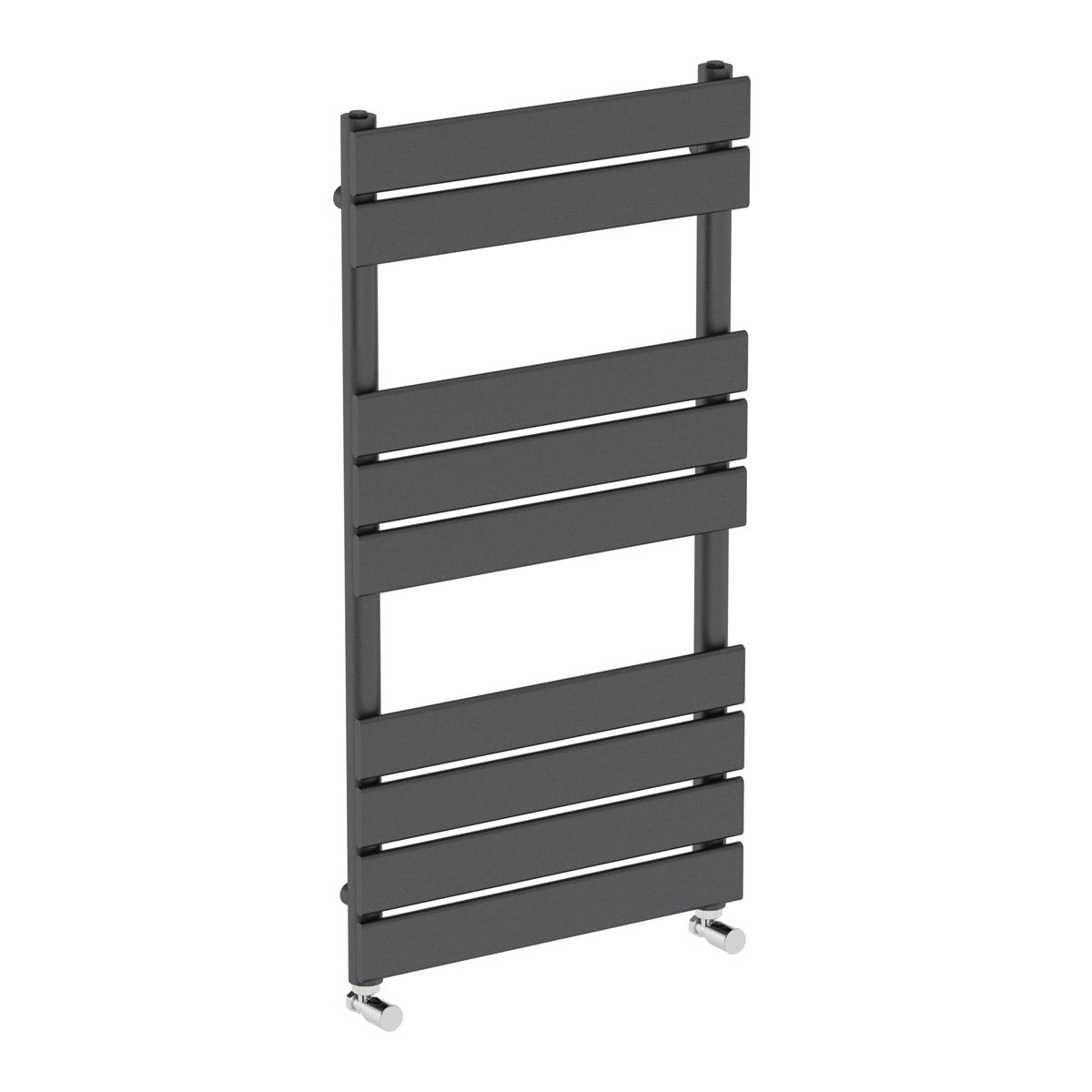 Orchard Wharfe anthracite heated towel rail 950 x 500 offer pack