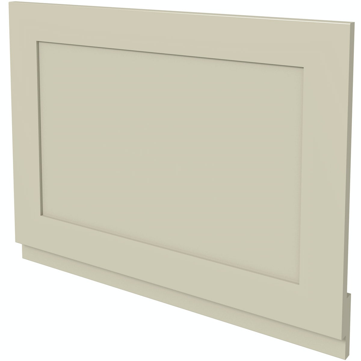 The Bath Co. Camberley satin ivory bath end panel 700mm