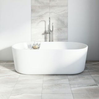 Stone grey matt tile 298mm x 498mm