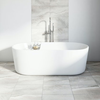 British Ceramic Tile Stone grey matt tile 298mm x 498mm