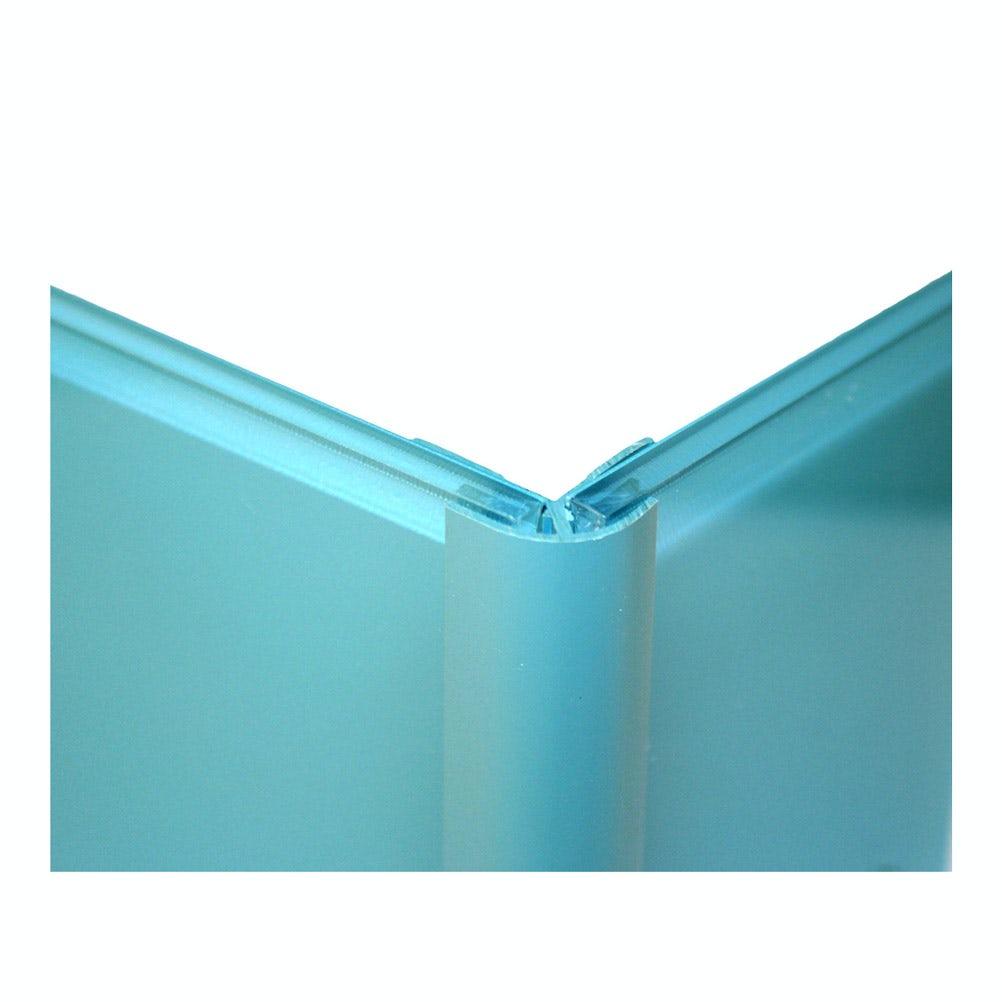 Zenolite plus matt water colour matched external corner joint 250mm