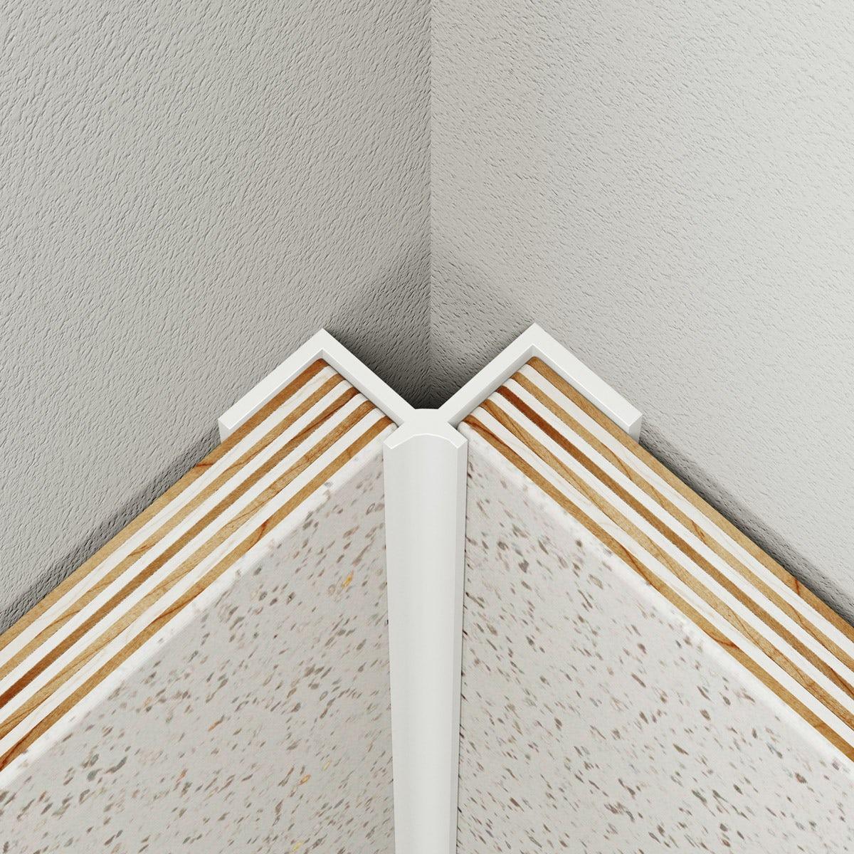 Multipanel Classic type A white internal corner profile