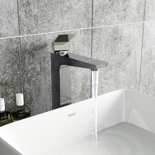 Mode Carter high rise basin mixer tap