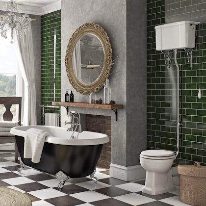 British Ceramic Tile Pure white matt floor 331mm x 331mm