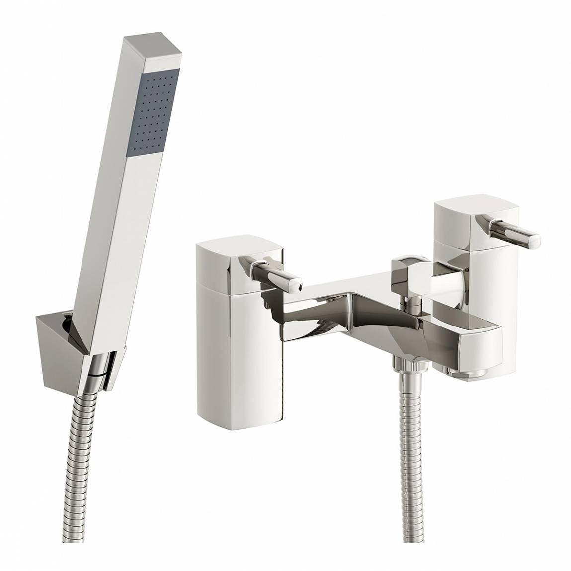 Orchard Derwent bath shower mixer tap offer pack