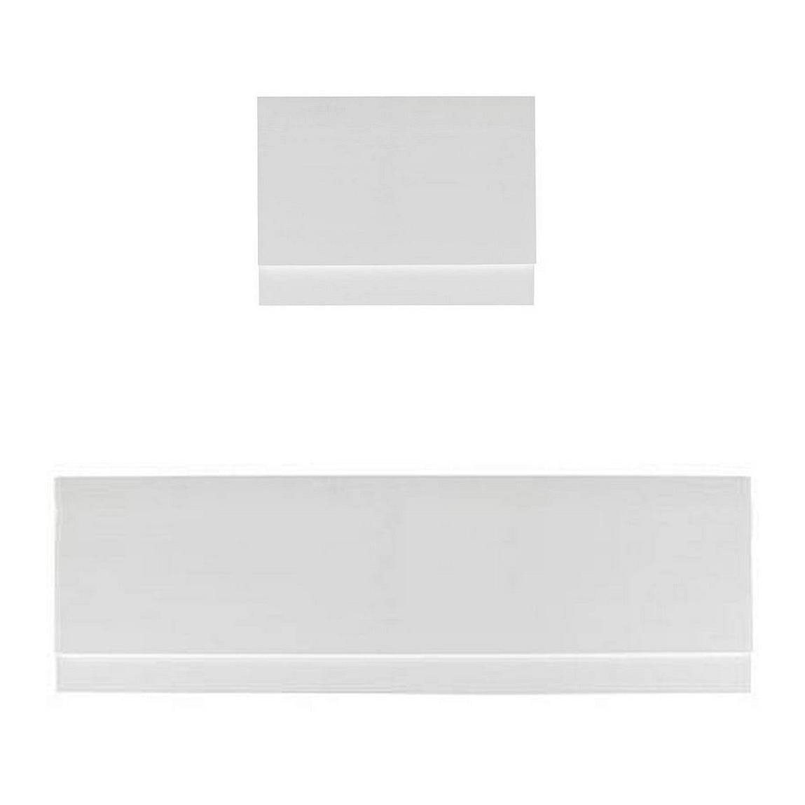Gloss White Straight Bath Panel Pack 1800 x 800