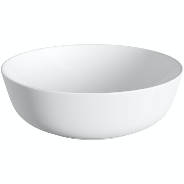 Mode Soane round thin edge countertop basin