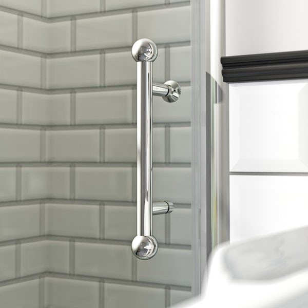 The Bath Co.Winchestertraditional pivot shower door offer pack