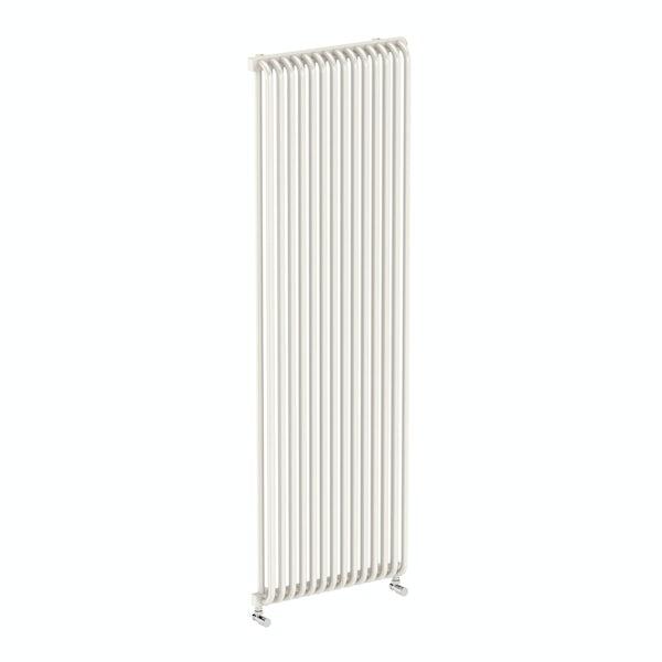 Delfin soft white vertical radiator 1800 x 580