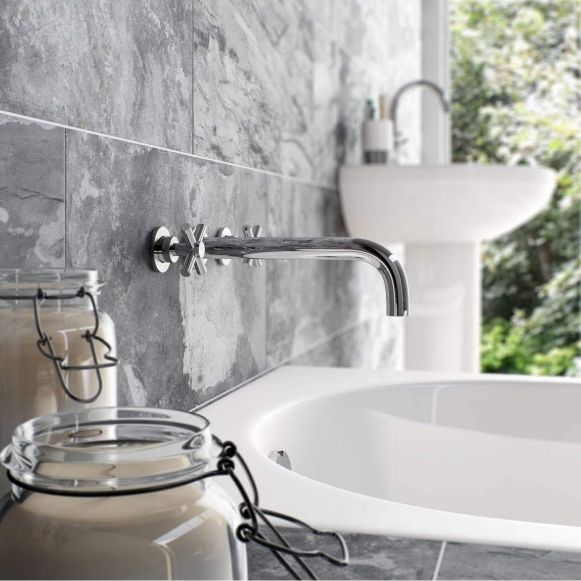 ... Tate Wall Mounted Bath Mixer ...