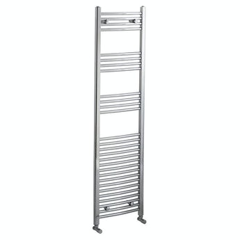 Orchard Curved heated towel rail 1650 x 450