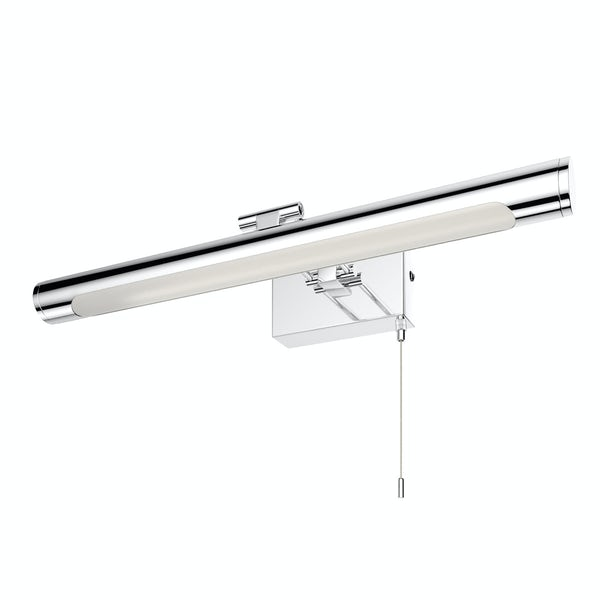 Forum LED mirror and picture bathroom light in chrome