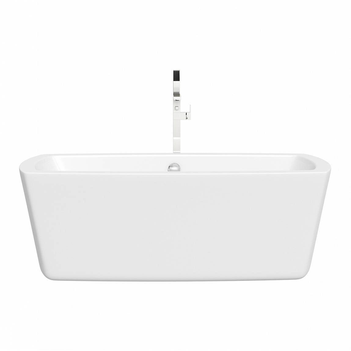 Nelson Freestanding Bath And Tap Deal