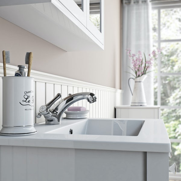 The Bath Co. Camberley lever basin mixer tap