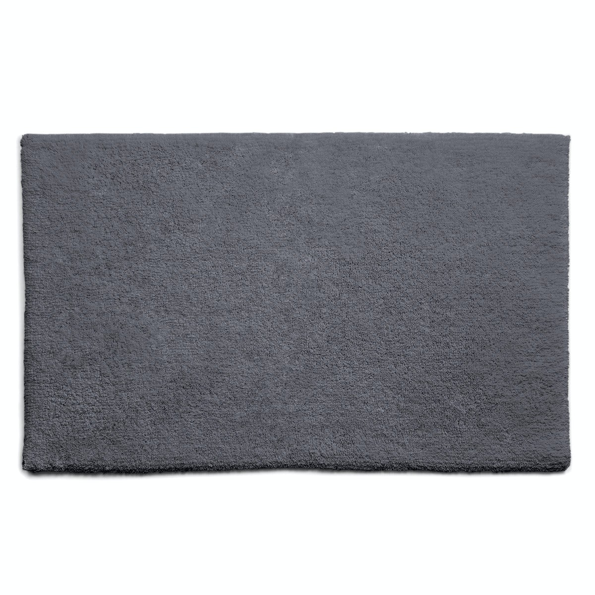 Hug Rug luxury bamboo plain graphite bathroom mat 50 x 80cm