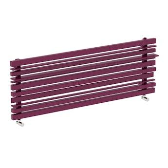 Terma Sherwood purple violet horizontal radiator 440 x 1300