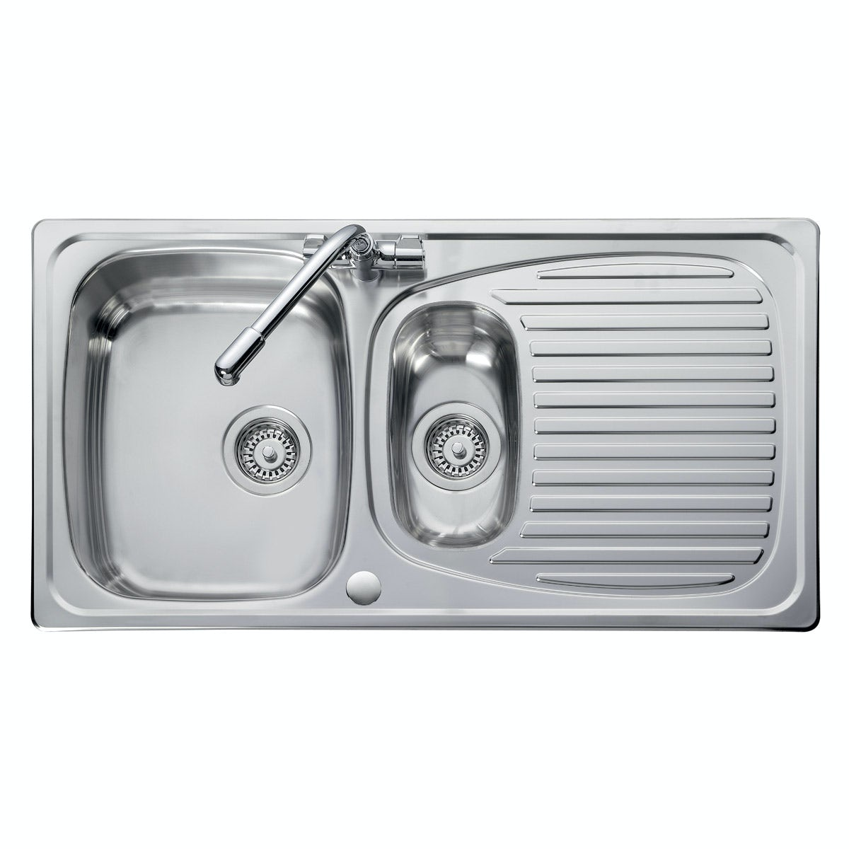 Leisure Euroline 1.5 bowl reversible kitchen sink