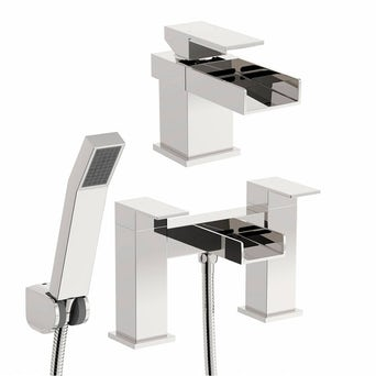 Metro Basin and Bath Shower Mixer Pack