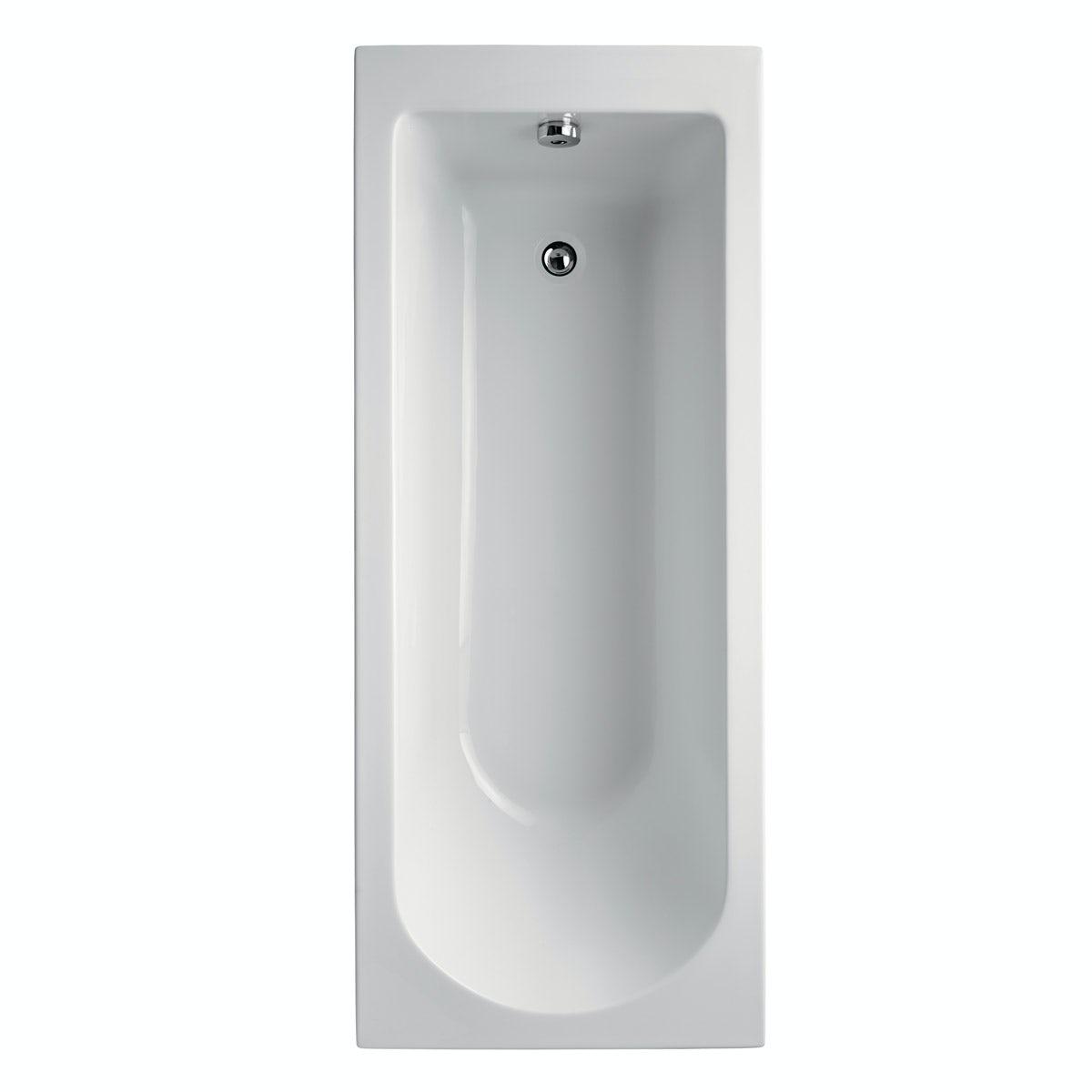 Ideal Standard single ended Idealform Plus+ straight bath 1700 x 700