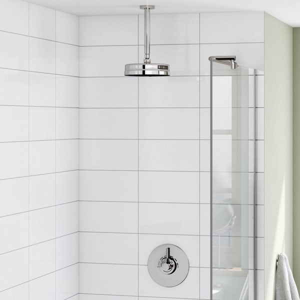 Harrison Concealed Thermostatic Valve & Ceiling Shower Set