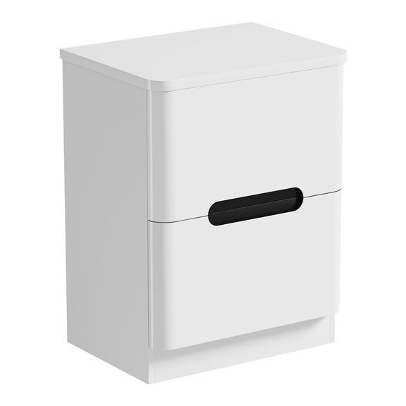Mode Ellis select essen vanity drawer unit and countertop 600mmMode Ellis essen vanity drawer unit and countertop 600mm