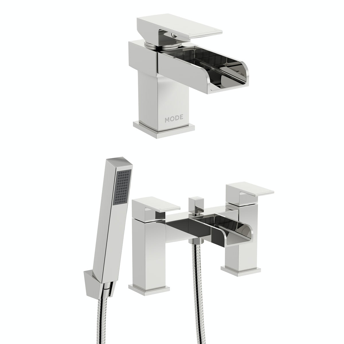 Mode Carter basin and bath shower mixer tap pack