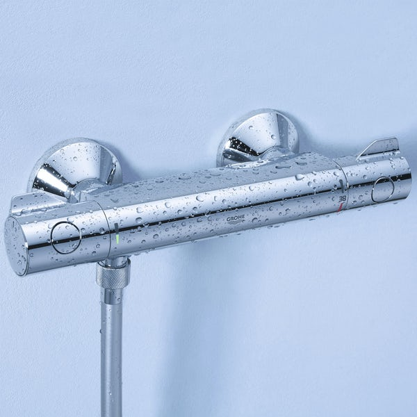 Grohe Grohtherm 800 thermostatic shower valve