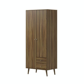 Helsinki Walnut combination wardrobe
