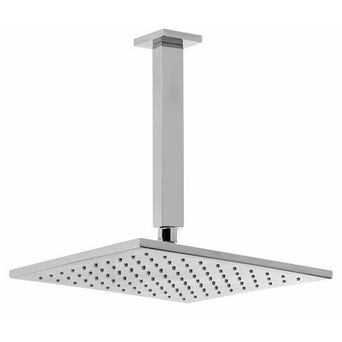 Square 250mm Head & Ceiling Arm