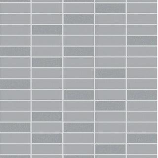 Graham & Brown Rimini tile grey shimmer wallpaper