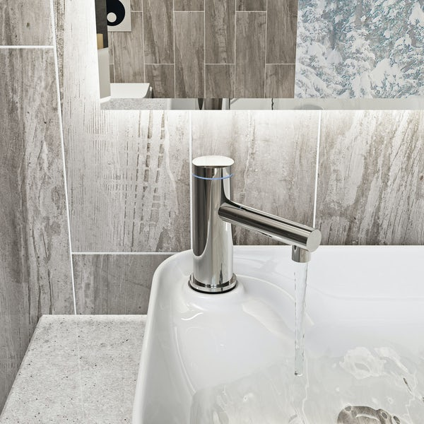 Mode Touch digital thermostatic basin mixer tap