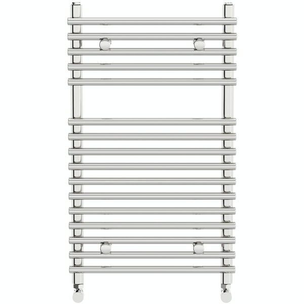 Orchard Derwent heated towel rail 750 x 450