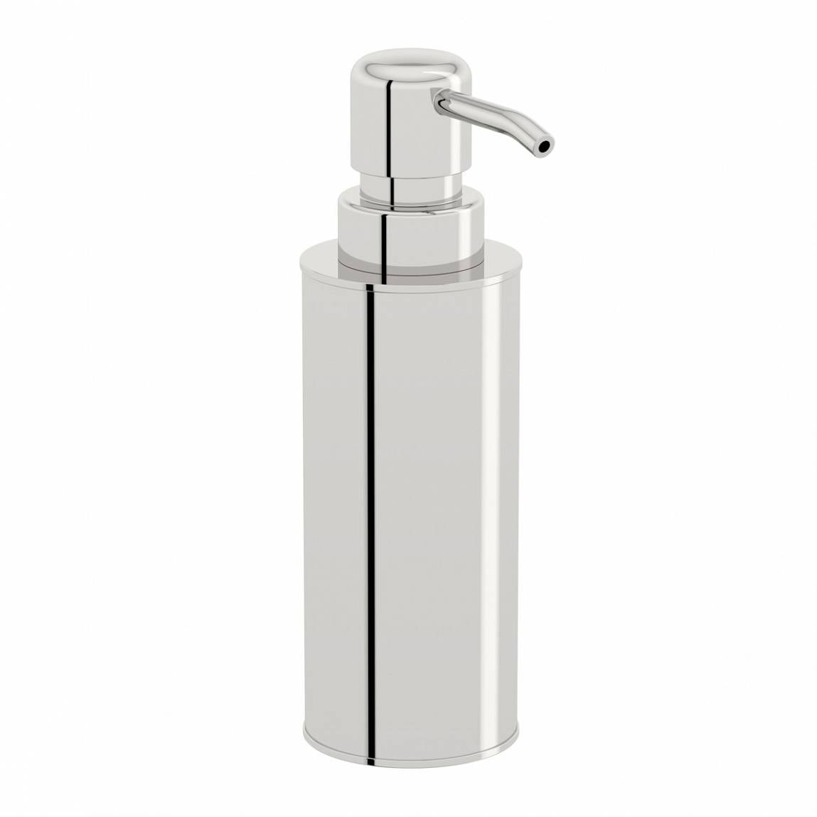 Orchard Options freestanding slim stainless steel soap dispenser