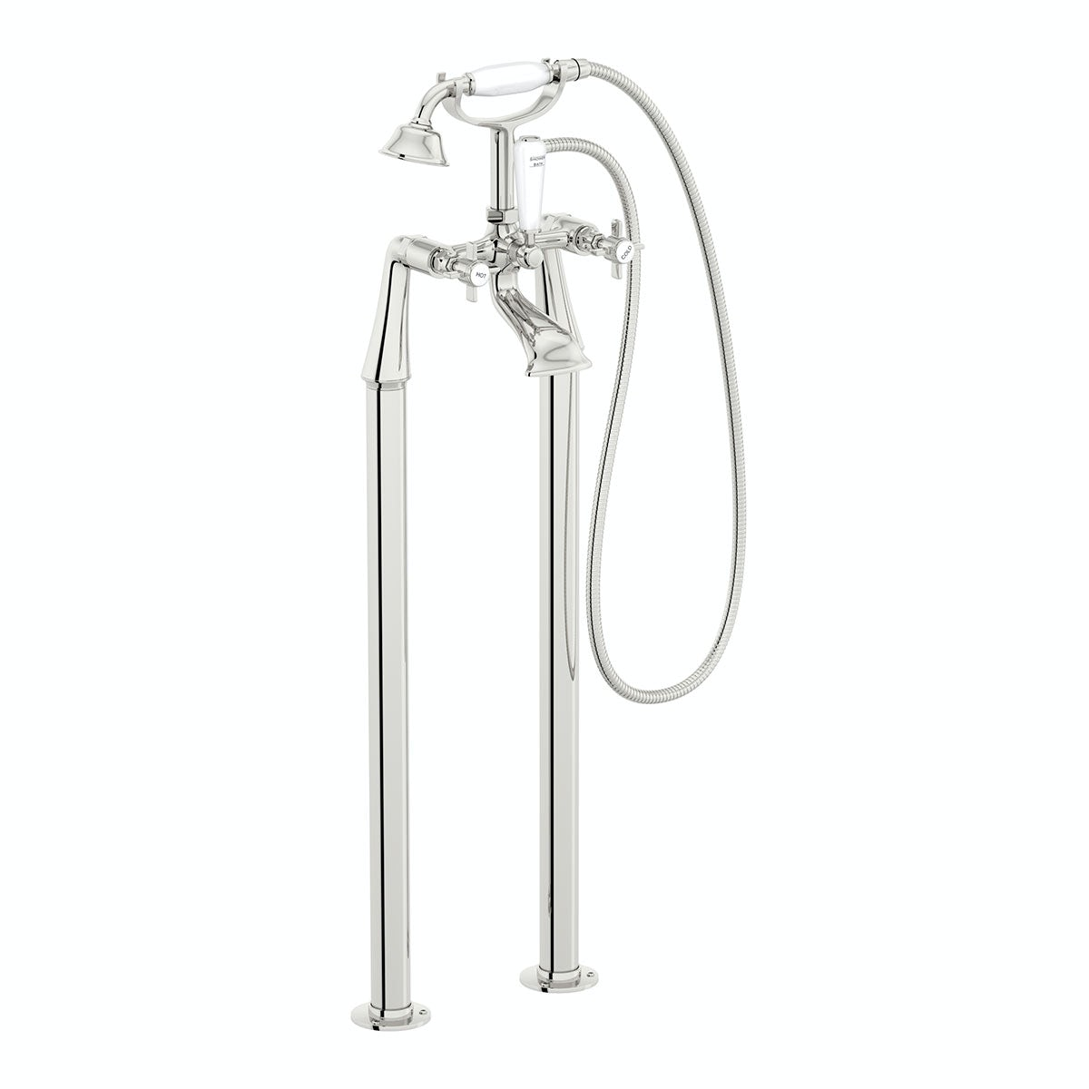 The Bath Co. Dulwich bath shower mixer and standpipe pack