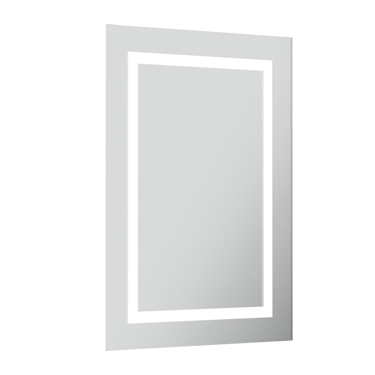 Shine rectangular LED mirror