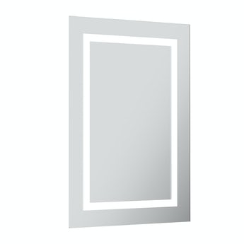 Mode Shine rectangular LED mirror with demister