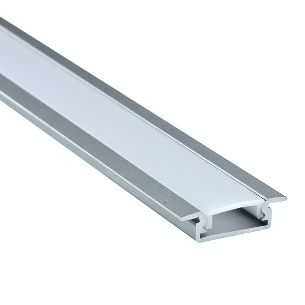 Recessed aluminium profile 2m