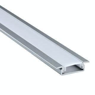 Recessed aluminium profile 2m