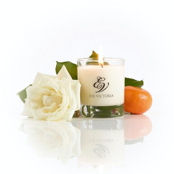 Eve Victoria Neroli, rose & sandalwood small candle 20cl