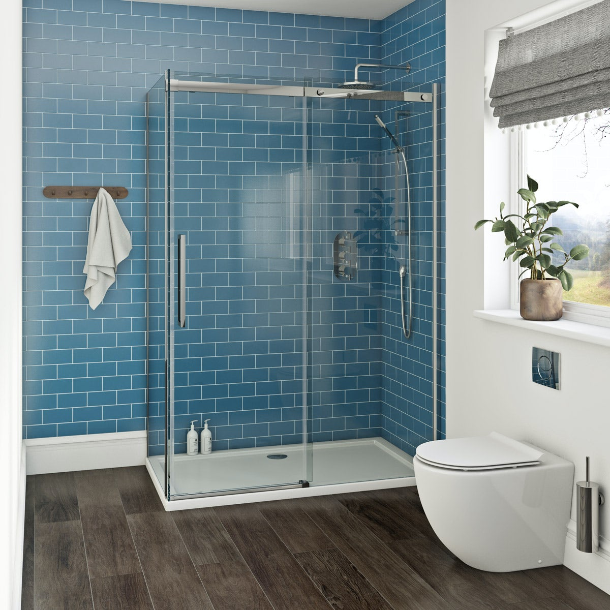 Mode Harrison 10mm easy clean shower enclosure 1200 x 800 ...
