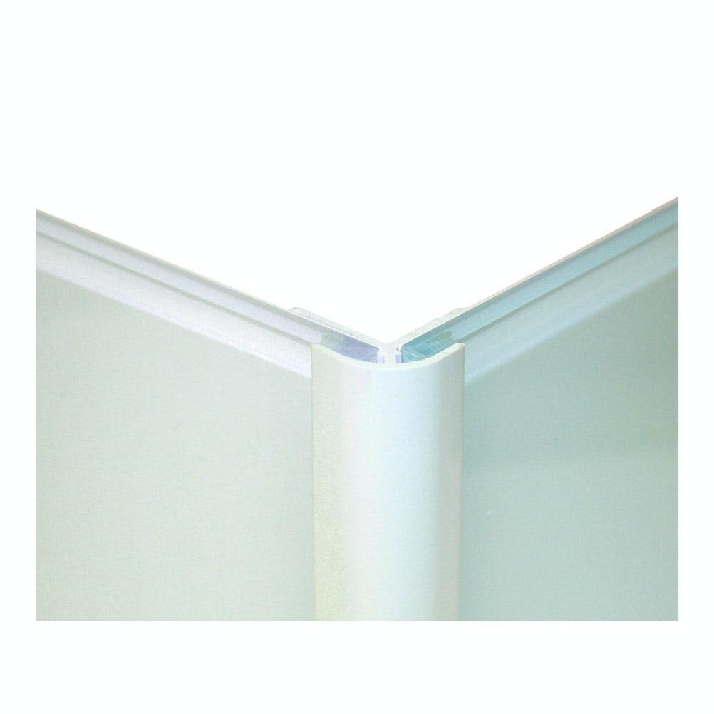Zenolite plus matt air color matched external corner joint 250mm